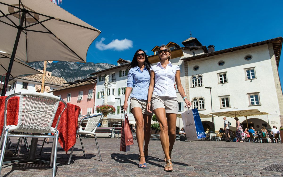 Shopping in Caldaro | Apartments in Oltradige in South Tyrol